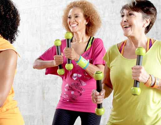 Zumba Gold Toning Classes - Muscle conditioning and light ...